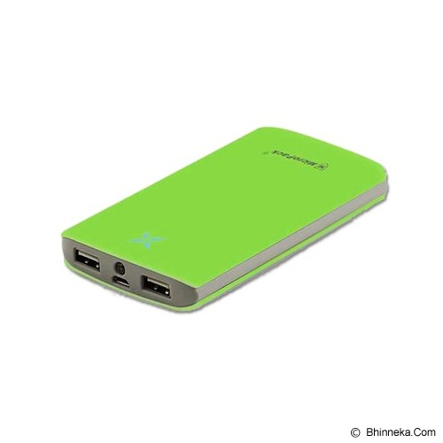 MICROPACK Powerbank 8000mAh - Green - Portable Charger / Power Bank