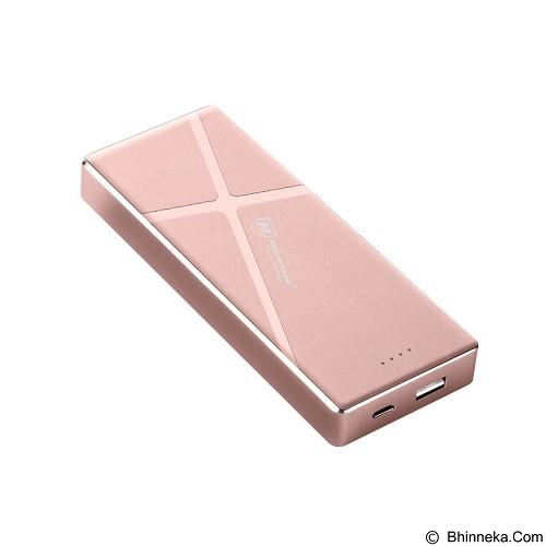 MICROPACK Powerbank Li-Polymer 7200mAh - Rose Gold (Merchant) - Portable Charger / Power Bank