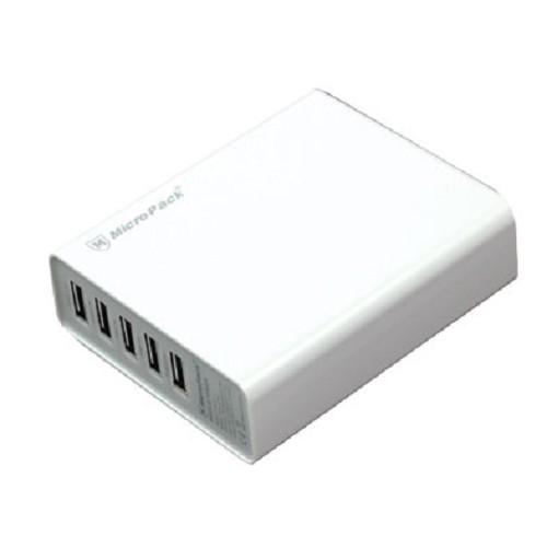 MICROPACK Powerbank 10400mAh [P104-5] - White - Portable Charger / Power Bank