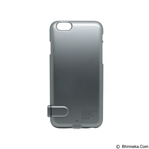 MICROPACK Powercase Outlander 2000mAh [MPC-I6+] - Grey (Merchant) - Portable Charger / Power Bank