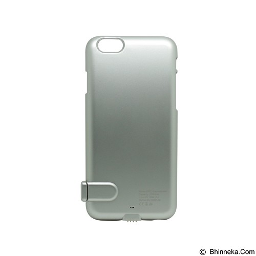 MICROPACK Powercase Outlander 2000mAh [MPC-I6+] - Silver (Merchant) - Portable Charger / Power Bank