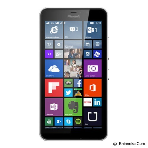 MICROSOFT Lumia 640 XL Dual Sim - White (Merchant) - Smart Phone Windows Phone