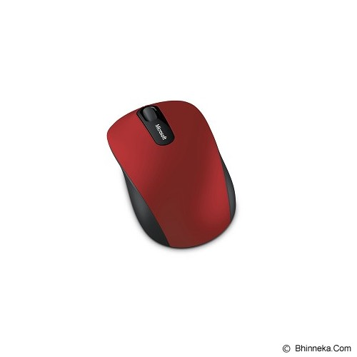 MICROSOFT Bluetooth Mobile Mouse 3600 [PN7-00020] - Red - Mouse Mobile