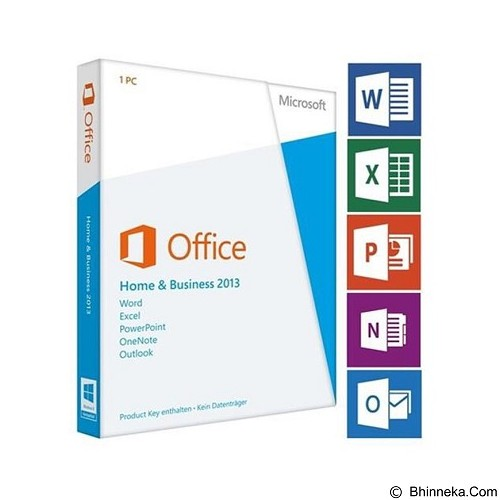 MICROSOFT Office Home and Business 2013 [T5D-01595] (Merchant) - Dump Licensing