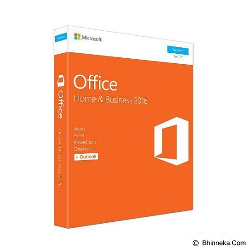MICROSOFT Office Home and Business 2016 [T5D-02274] [T5D-02695] - Client Software Office Application Fpp