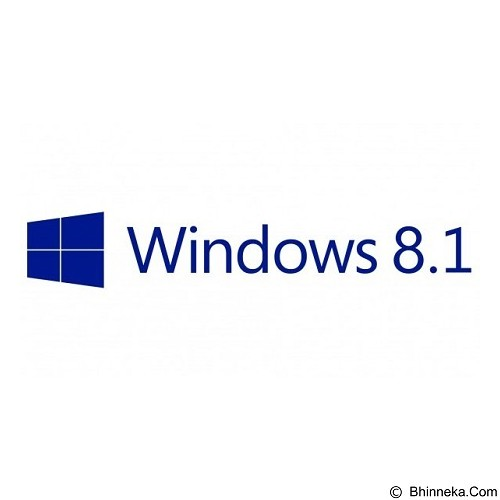 MICROSOFT Windows 8.1 [WN7-00582] (Merchant) - Client Software Windows Os Fpp