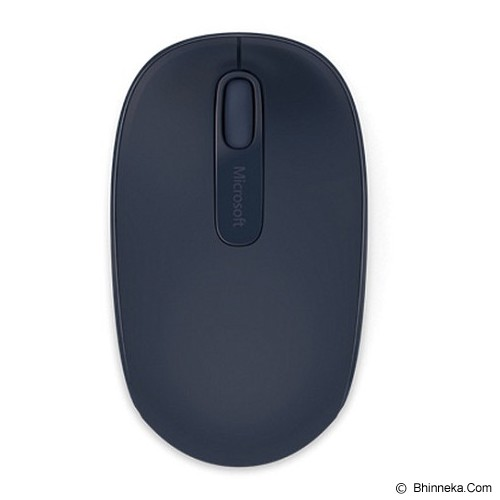 MICROSOFT Wireless Mobile Mouse 1850 [U7Z-00020] - Wool Blue - Mouse Mobile
