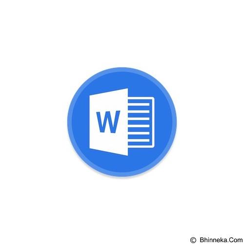 MICROSOFT Word 2016 non SA [059-09076] - Software Office Application Licensing