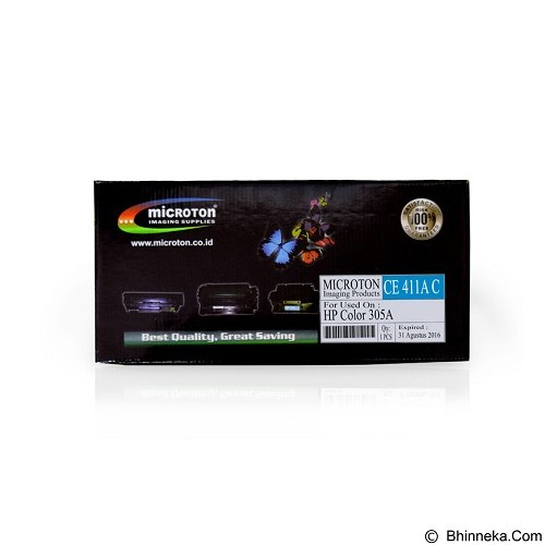 MICROTON Toner Compatible HP Color 305A [CE411A C] - Toner Printer Refill