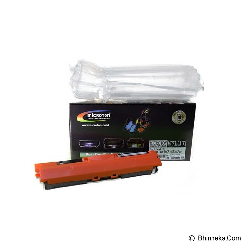 MICROTON Toner Compatible HP Colour CP 1025 / 1025nw [MCE 310A K] - Toner Printer Refill