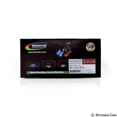 MICROTON Toner For HP Color 305A [CE411A M] - Toner Printer HP