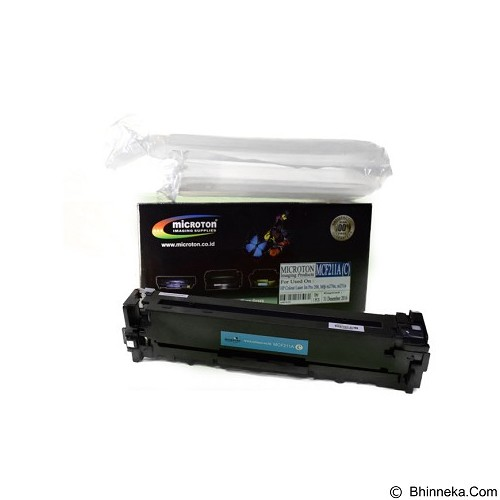 MICROTON Toner For HP M 251N [MCF 211A C] - Toner Printer Refill
