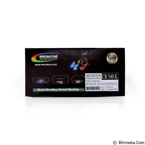 MICROTON Toner HP Colour CP 1215/1515/1518/CM 1315 [CB 540 K] - Toner Printer Refill