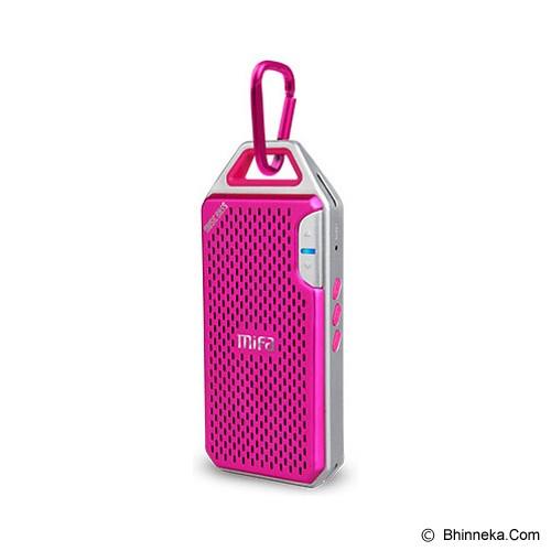 MIFA Portable Bluetooth Speaker F4 - Pink - Speaker Bluetooth & Wireless