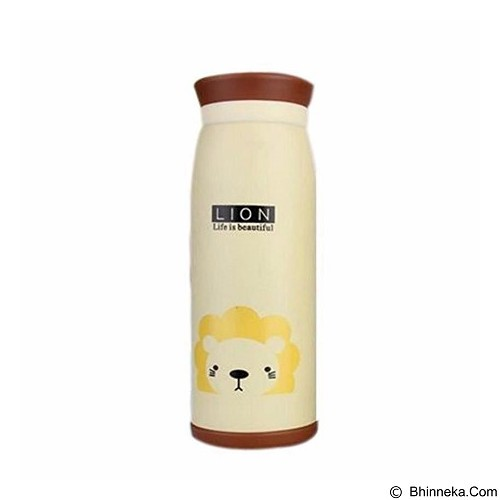 MIIBOX Botol Minum Karakter Lion - Cream (Merchant) - Botol Minum