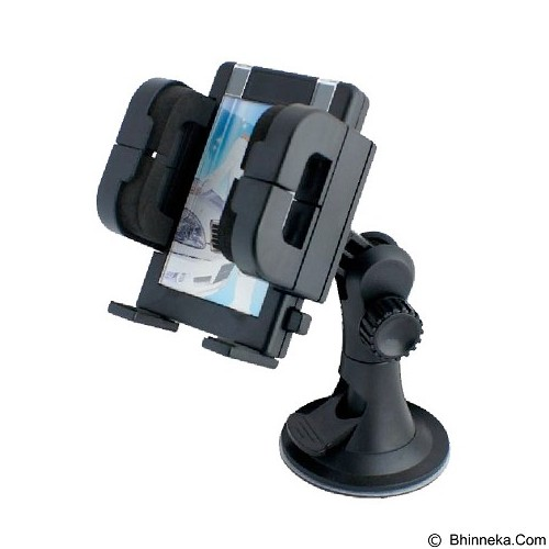 MIIBOX Universal Car Holder for Smartphone Tipe 2 - Black - Gadget Mounting / Bracket