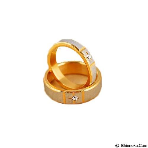 MIKI JEWELRY Cincin Couple Size 5 [cc003] (Merchant) - Cincin