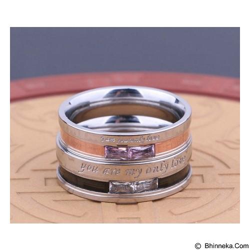 MIKI JEWELRY Cincin Couple Size 5 [cc026] (Merchant) - Cincin