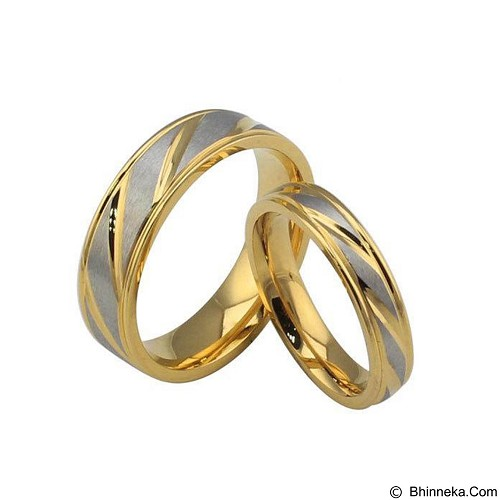 MIKI JEWELRY Cincin Couple Size 5 [cc028] (Merchant) - Cincin