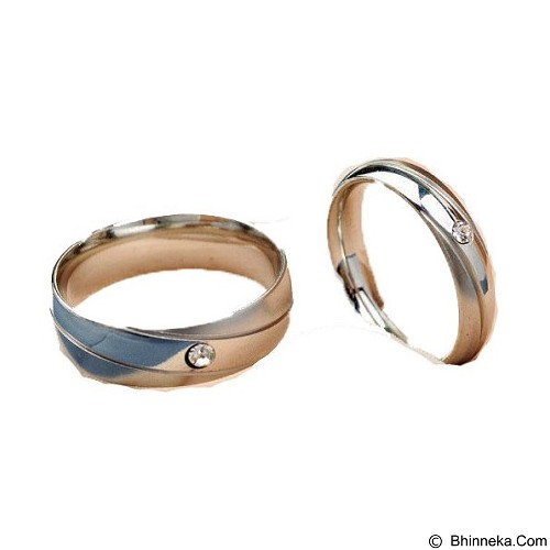 MIKI JEWELRY Cincin Couple Size 6 [cc008] (Merchant) - Cincin