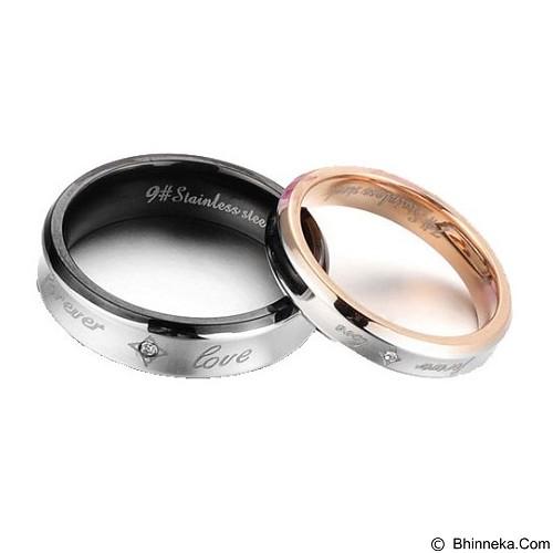 MIKI JEWELRY Cincin Couple Size 6 [cc014] (Merchant) - Cincin