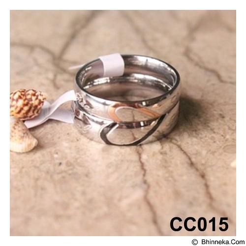 MIKI JEWELRY Cincin Couple Size 6 [cc015] (Merchant) - Cincin