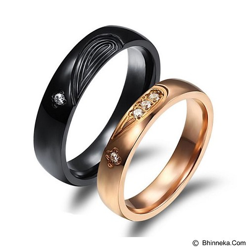 MIKI JEWELRY Cincin Couple Size 6 [cc030] (Merchant) - Cincin
