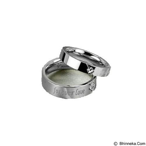 MIKI JEWELRY Cincin Couple Size 7 [cc009] (Merchant) - Cincin