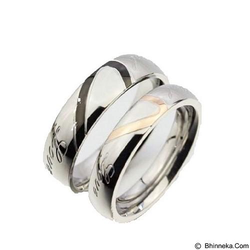MIKI JEWELRY Cincin Couple Size 7 [cc015] (Merchant) - Cincin
