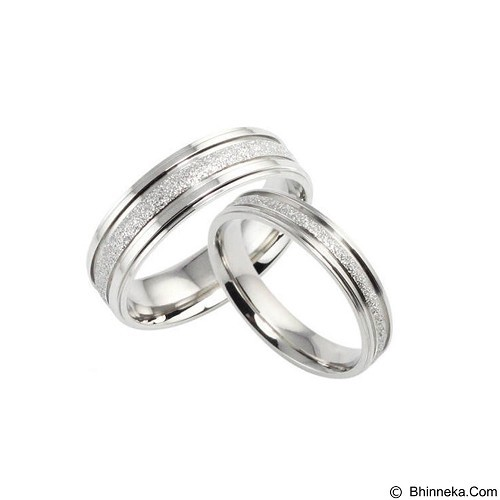 MIKI JEWELRY Cincin Couple Size 7 [cc024] (Merchant) - Cincin