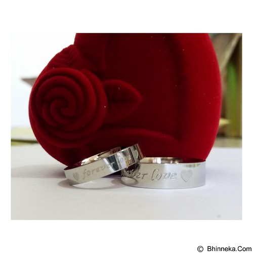 MIKI JEWELRY Cincin Couple Size 8 [cc001] (Merchant) - Cincin