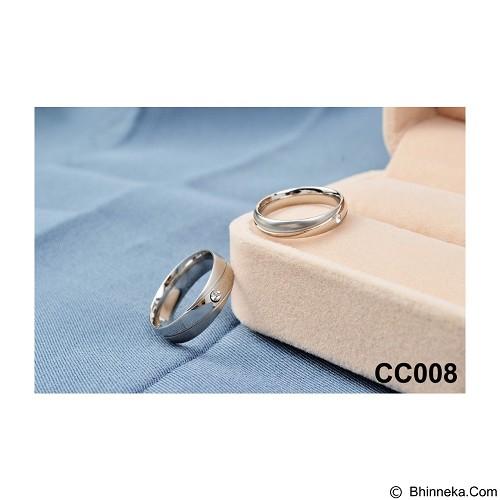 MIKI JEWELRY Cincin Couple Size 8 [cc008] (Merchant) - Cincin
