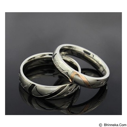 MIKI JEWELRY Cincin Couple Size 8 [cc015] (Merchant) - Cincin