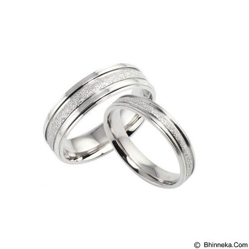 MIKI JEWELRY Cincin Couple Size 8 [cc023] (Merchant) - Cincin