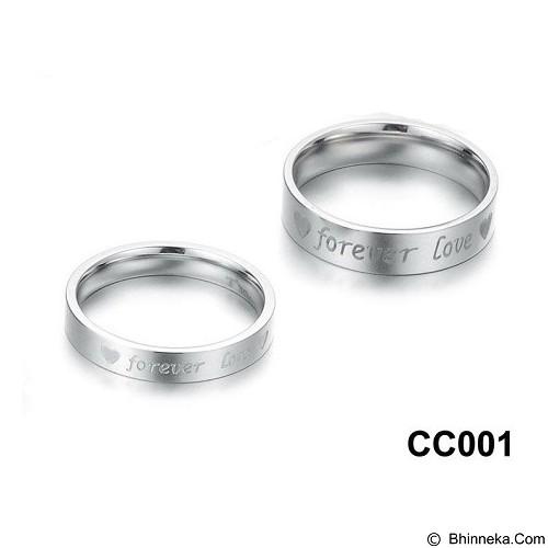 MIKI JEWELRY Cincin Couple Size 9 [cc001] (Merchant) - Cincin