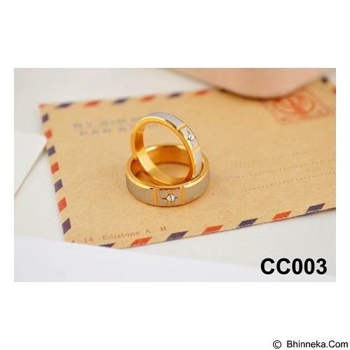 MIKI JEWELRY Cincin Couple Size 9 [cc003] (Merchant) - Cincin