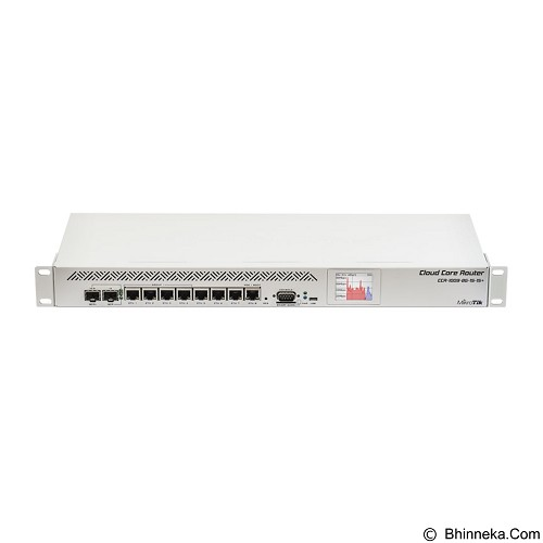 MIKROTIK Router Board [CCR1009-8G-1S-1S+PC] (Merchant) - Router Enterprise
