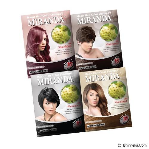 MIRANDA Hair Magic Color 50ml - Black - Cat Rambut