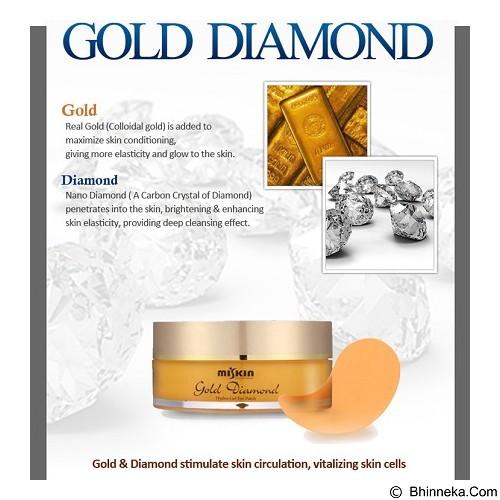 MISKIN Golden Diamond Hydro Gel Eye Patch - Perawatan Mata