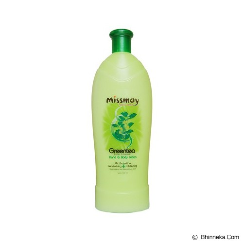 MISSMAY Green Tea Hand Body Lotion 600ml - Body Lotion / Butter