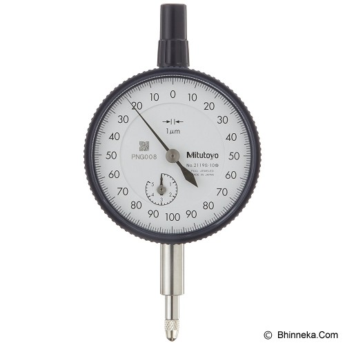 MITUTOYO Dial Indicator Lug-Back 2119S-10 - Dial Indicator Manual