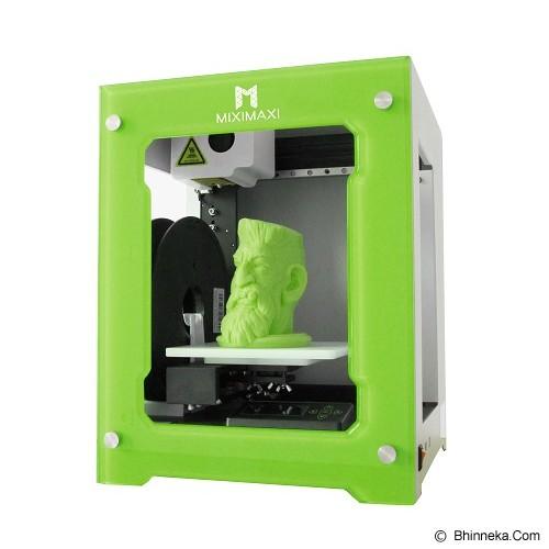 MIXIMAXI3D Printer 3D - Lime Green - 3d Milling / Modeller