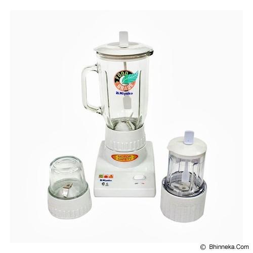 MIYAKO Blender + Wet & Dry Mill [BL-102GS] - White (Merchant) - Blender