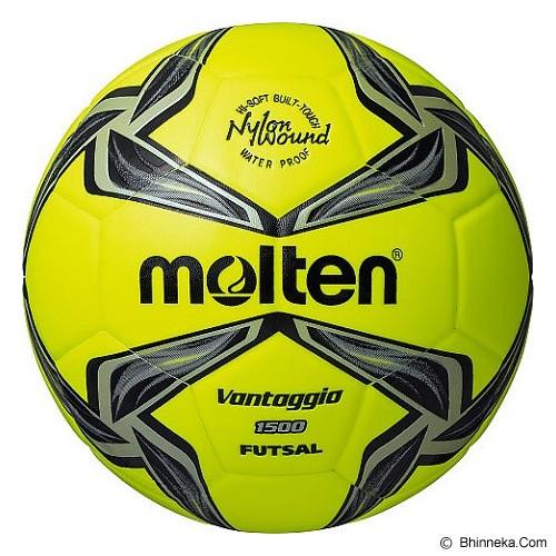 MOLTEN Bola Futsal [F9V1500] - Lime/Black - Bola Futsal