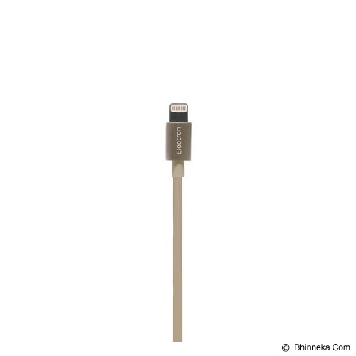 MONOCOZZI Alumflat USB Sync & Charge Cable with Lightning Connector 20CM - Gold - Cable / Connector Usb