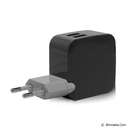 MONOCOZZI Car Charger 4.2A Dual USB International Wall Smighty - Black - Car Kit / Charger