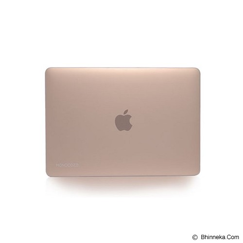 MONOCOZZI Case Macbook 12 inch Lucid Transparant Hard Shell - White Matte - Notebook Skin