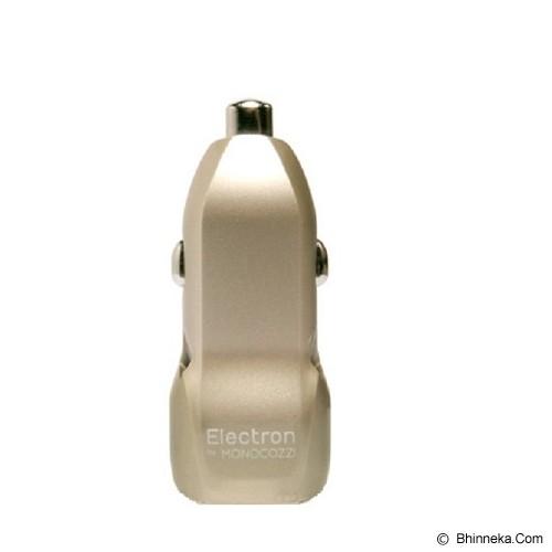 MONOCOZZI Electron Automotive Ore 3.4A Dual USB Car Charger - Gold - Car Kit / Charger