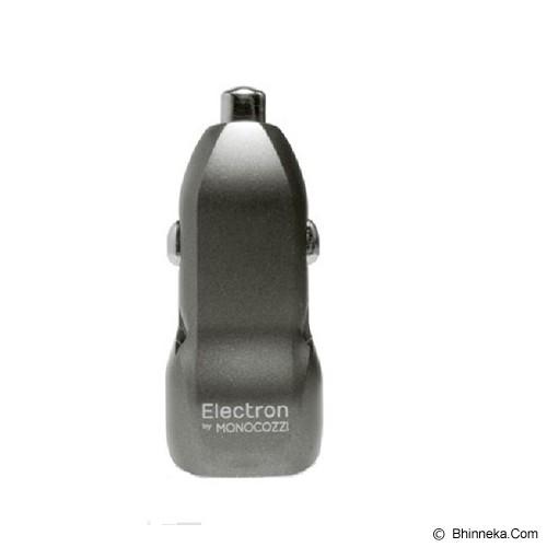 MONOCOZZI Electron Automotive Ore 3.4A Dual USB Car Charger - Grey - Car Kit / Charger