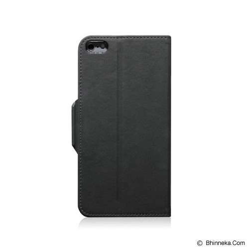 MONOCOZZI Lucid Translucent Folio Case for iPhone 6 - Charcoal - Casing Handphone / Case
